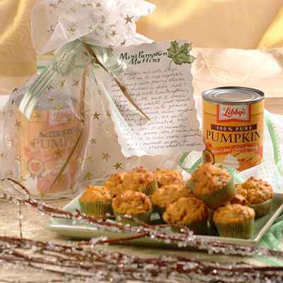 Mini Pumpkin Muffin Mix recipe